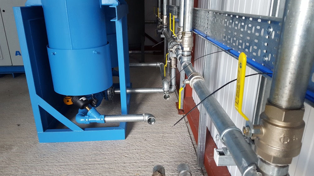 Image details: A Recent compressor installation in the Thames Valley