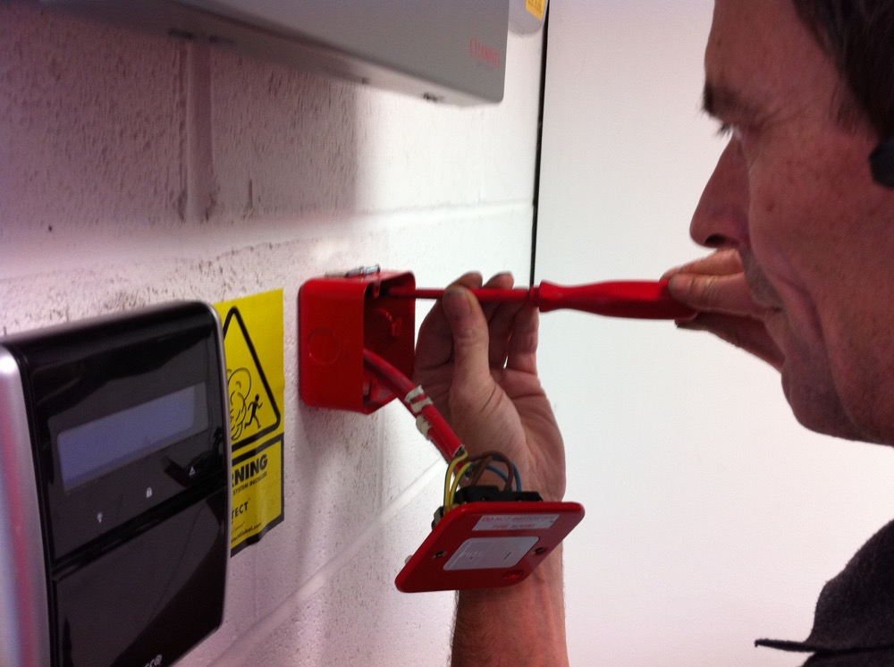 image showing Electrical Safety Testing on Site in the Thames Valley